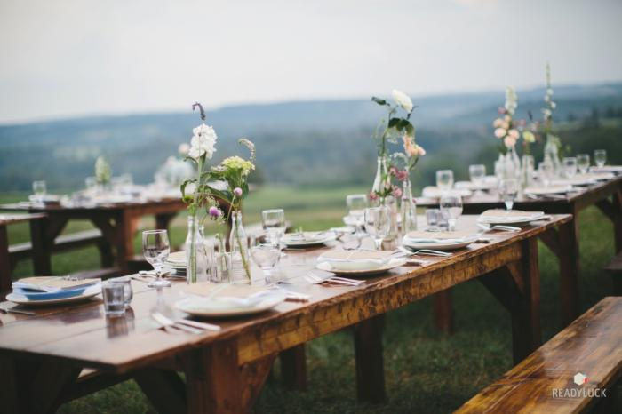 Rustic + Vintage - Inspired Pennsylvania Farm Wedding