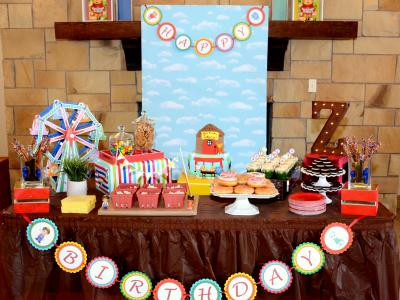 A 'Daniel Tiger' 1st Birthday Party